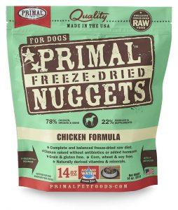 Primal dehidrirana pseća hrana